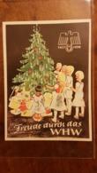 WHW Winterhilfswerk, Türplakette Freude Durch Das WHW 1937 - Dokumente