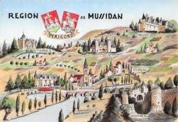 Région De MUSSIDAN - Dessins Fournils, Bassy, St-Front, Sourzac, Neuvic, Montréal - Collection Dindinaud - Mussidan