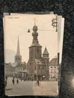 Thielt Tielt  Beffroi - Geanimeerd Photo Van Maele - Gelopen +/- 1900 - Tielt