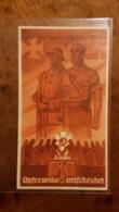 WHW Winterhilfswerk, Türplakette Opferwille Entscheidet 1935/6 - Documents