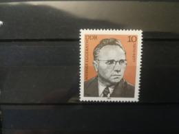 FRANCOBOLLI STAMPS GERMANIA DEUTSCHE DDR 1980 MNH** NUOVI LABOUR LEADER WERMER EGGERATH GERMANY - Nuovi