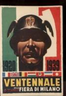 C2027 VENTENNALE DELLA FIERA DI MILANO 1920 - 1939 FASCISMO RIPRODUZIONE - Manifestazioni