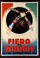 C2028 FIERA DI MILANO 1938 FASCISMO RIPRODUZIONE - Manifestazioni