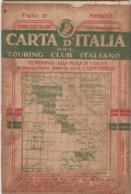 12653-T.C.I-MESSINA-SCALA 1:250.000 - Carte Geographique