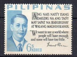 PHILIPPINES - PRESIDENT - ACUNA ROXAS - 1963 - - Philippines
