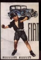 C2036 FIAT PNEUMATICI PIRELLI CON BALILLA FASCISMO RIPRODUZIONE - Cartes Postales