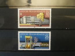 FRANCOBOLLI STAMPS GERMANIA DEUTSCHE DDR 1982 MNH** NUOVI SERIE COMPLETA LEIPZIG SPRING FAIR GERMANY - Nuovi