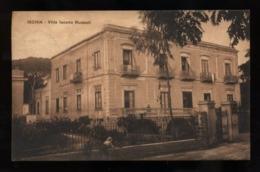 C2040 ISCHIA - VILLA IACONO RUSPOLI FORMATO PICCOLO VG 1926 - Other Cities