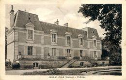 N°75558 -cpa Jaunay Clan -château- - Kastelen