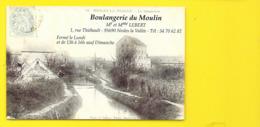 NESLES La VALLEE Rare REPRO De La Boulangerie Du Moulin () Val D'Oise (95) - Nesles-la-Vallée