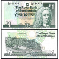 SCOTLAND – 1 POUND – 2001 – UNC - Altri