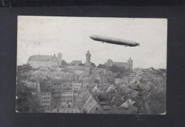 Dt. Reich AK Zeppelin III über Nürnberg 1909 - Nürnberg