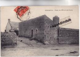 CPA - 56 - KERHOSTIN (Morbihan) - Poste Des Officiers De Hoche - Caerte Adressée En 1910 - Autres Communes