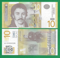 SERBIA - 10 DINARA – 2006 - UNC - Serbia