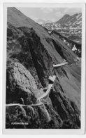 (RECTO / VERSO) FELDKIRCH EN 1951 - FLEXENSTRASSE - BEAU CACHET ET TIMBRE - CARTE PHOTO FORMAT CPA VOYAGEE - Feldkirch