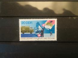 FRANCOBOLLI STAMPS GERMANIA DEUTSCHE DDR 1982 MNH** NUOVI SERIE COMPLETA SPORT AND TECHNIC GERMANY - Nuovi