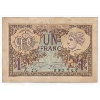 75 - PARIS - CHAMBRE DE COMMERCE - 1 FRANC 1920 - TB/TTB - 1871-1952 Circulated During XXth
