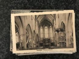 Snellegem ( Jabbeke) - Kerk Binnenzicht   - Uitg. Marcel Verschaeve - Jabbeke