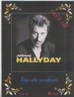 ETIQUETTE VIN JOHNNY HALLYDAY  VIN DU ROCKEUR - Musique