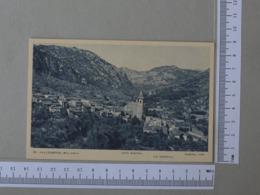 SPAIN - VALLDEMOSA -  MALLORCA -   2 SCANS    - (Nº30803) - Mallorca