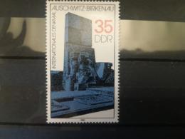 FRANCOBOLLI STAMPS GERMANIA DEUTSCHE DDR 1982 MNH** NUOVI AUSCHWITZ BIRKENAU MONUMENT GERMANY - Nuovi