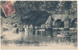 TILLY SUR SEULLES - Le Pont Sur La Seulles, Lavandières - France