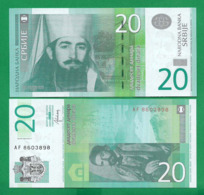 SERBIA - 20 DINARA – 2013 - UNC - Serbia