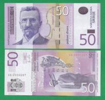 SERBIA - 50 DINARA – 2011 - UNC - Servië