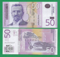 SERBIA - 50 DINARA – 2011 - UNC - Serbia