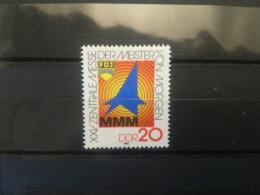 FRANCOBOLLI STAMPS GERMANIA DEUTSCHE DDR 1982 MNH** NUOVI 25TH MASTERS TOMORROW CENTR GERMANY - Nuovi