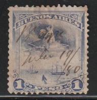 FISCAUX / REVENUE - BUENOS AIRES - Timbre Obl - Buenos Aires (1858-1864)