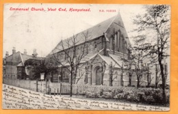 Hampstead UK 1906 Postcard Mailed - London Suburbs
