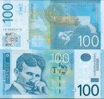 SERBIA - 100 DINARA – 2013 - UNC - Servië