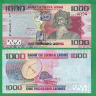 SIERRA LEONE - 1000 LEONES - 2013 - UNC - Sierra Leone