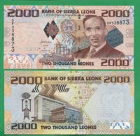 SIERRA LEONE - 2000 LEONES - 2010 - UNC - Sierra Leone