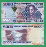 SIERRA LEONE - 5000 LEONES - 2010 - UNC - Sierra Leone