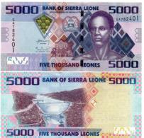 SIERRA LEONE - 5000 LEONES - 2013 - UNC - Sierra Leone