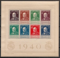 Portugal - 1940 - Bloc N°Yv. 2 - 100 Ans Timbre / Rowland Hill - Neuf Luxe ** / MNH / Postfrisch - Blocks & Kleinbögen