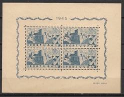Portugal - 1945 - Bloc N°Yv. 10 - Lisbonne 1e75 - Neuf Luxe ** / MNH / Postfrisch - Blocks & Sheetlets