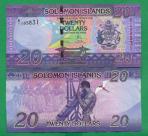 SOLOMON ISLANDS - 20 DOLLARS - 2017 - UNC - Isla Salomon