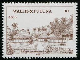 Wallis Et Futuna 2014 - Village Americain à Gahi - 1v Neufs // Mnh - Neufs