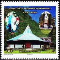 Wallis Et Futuna 2014 - Ouverture Du Pèlerinage International A Poï - 1v Neufs // Mnh - Neufs