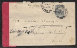 1940 - PALESTINE To US - CENSOR. -  RAM ALLAH To NEW YORK - Palestine