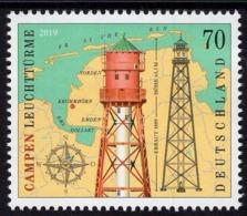 Germany - 2019 - Campen Lighthouse - Mint Stamp - Neufs