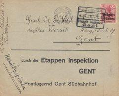 Antwerpen Vers Etappen Gent - WW I
