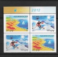 2012 MNH Azerbeijan From Booklets, Postfris** - Europa-CEPT