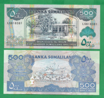 SOMALILAND - 500 SHILLINGS - 2011 - UNC - Somalië