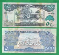 SOMALILAND - 500 SHILLINGS - 2011 - UNC - Somalia