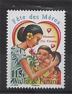 Wallis Et Futuna 2014 - Fete Des Meres - 1 Val Neuf // Mnh - Neufs