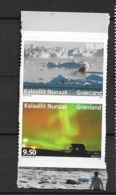 2012 MNH Greenland, From Booklet, Postfris** - 2012